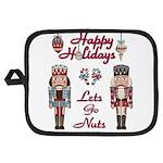 Happy Holidays Nutcracker Potholder