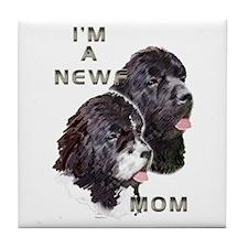 NEWF MOM Tile Coaster