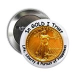 Gold Liberty with Motto on Button