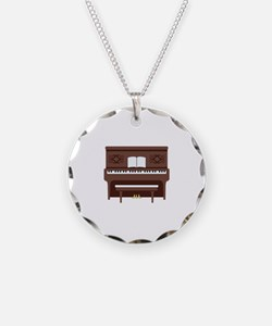 Upright Piano Necklace
