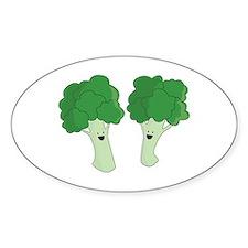 Happy Broccoli Decal