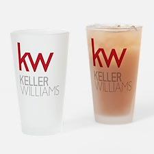 KW Logo Drinking Glass