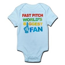 Fast Pitch Fan Infant Bodysuit