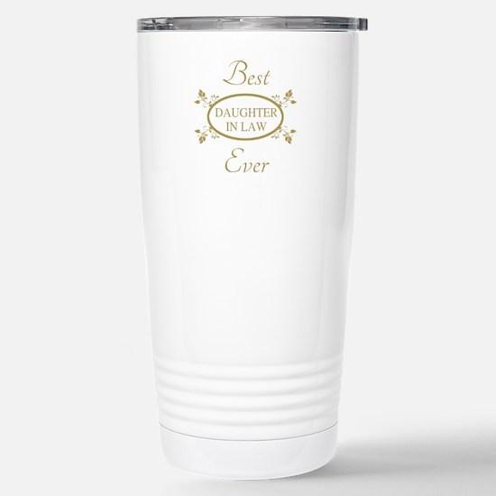 Best Daughter-In-Law Ev Stainless Steel Travel Mug