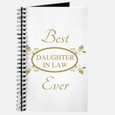 Best Daughter-In-Law Ever Journal