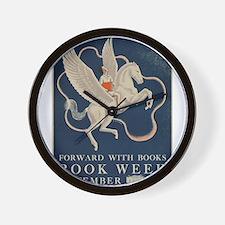 1941 Children's Book Week Wall Clock