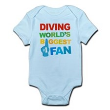 Diving Fan Infant Bodysuit