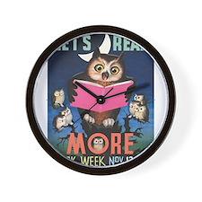 1955 Children's Book Week Clock