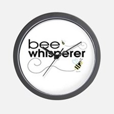 Bee Whisperer Wall Clock