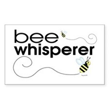 Bee Whisperer Rectangle Decal