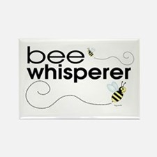 Bee Whisperer Rectangle Magnet