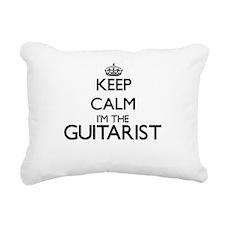 Keep calm I'm the Guitar Rectangular Canvas Pillow