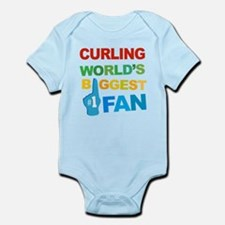 Curling Fan Infant Bodysuit