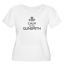 Keep calm I'm the Gunsmith Plus Size T-Shirt