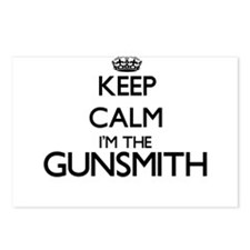 Keep calm I'm the Gunsmit Postcards (Package of 8)
