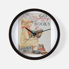 1959 Children's Book Week Wall Clock