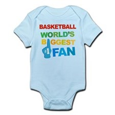 Basketball Fan Infant Bodysuit