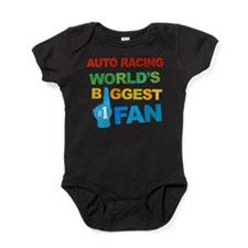 Auto Racing Fan Baby Bodysuit