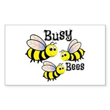 Busy Bees Decal