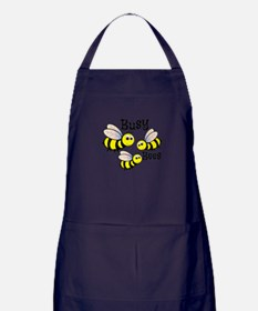 Busy Bees Apron (dark)