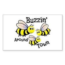Buzzin Around Decal