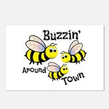 Buzzin Around Postcards (Package of 8)