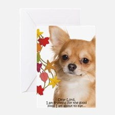 Funny Chihuahua Thanksgiving Greeting Cards