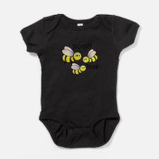 Honey Bees Baby Bodysuit