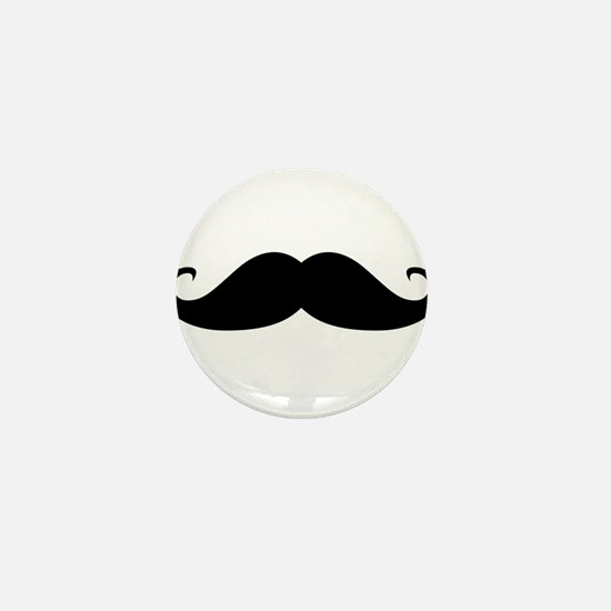 Moustache Mini Button (100 pack)
