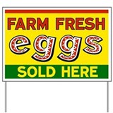 Eggs for sale Yard Signs