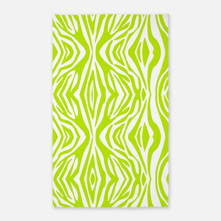 Graham And Green Zebra Rug: Lime Green Zebra Print Bedding