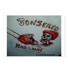 Jonsered Bad to the Bone Postcards (Package of 8)