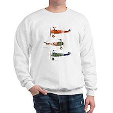 Funny Flying circus Sweatshirt