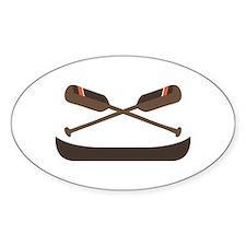 Row Canoe Decal