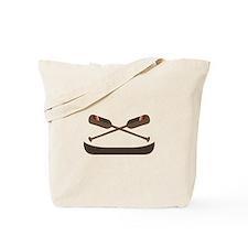 Row Canoe Tote Bag