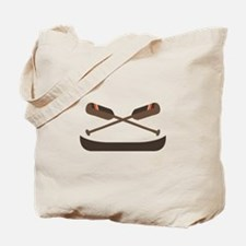 Row Canoe Tote Bag