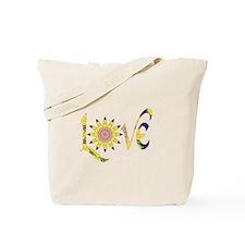 Love - Omm Flower P Tote Bag