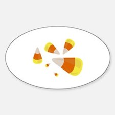 Candy Corn Decal