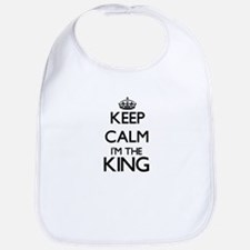 Keep calm I'm the King Bib