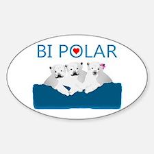 Bi Polar Bears Decal
