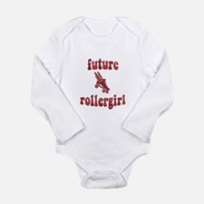 Funny Rollerderby Long Sleeve Infant Bodysuit
