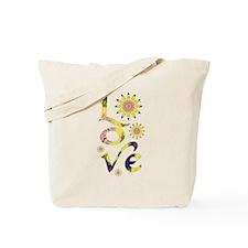 Love - Omm Flowers Tote Bag