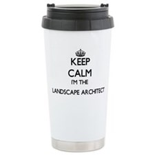 Keep calm I'm the Lands Travel Mug