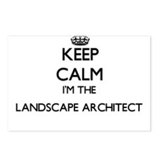 Keep calm I'm the Landsca Postcards (Package of 8)