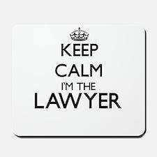 Keep calm I'm the Lawyer Mousepad