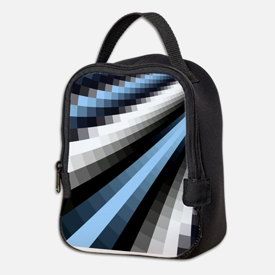 Grid Neoprene Lunch Bag