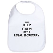 Keep calm I'm the Legal Secretary Bib