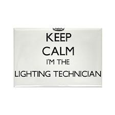 Keep calm I'm the Lighting Technician Magnets