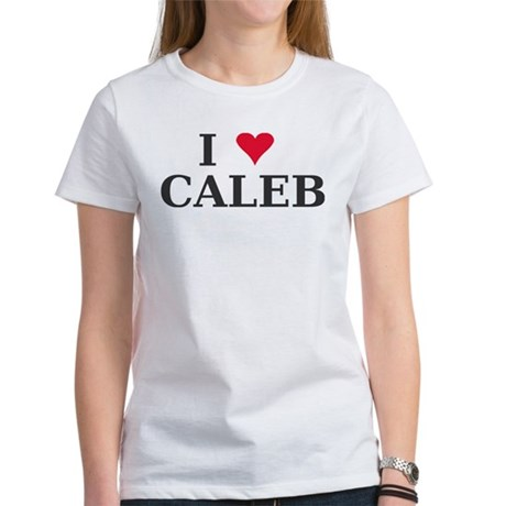I Love Caleb name Women's T-Shirt