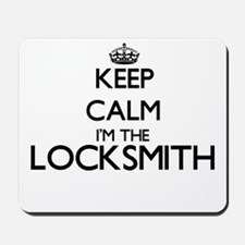 Keep calm I'm the Locksmith Mousepad